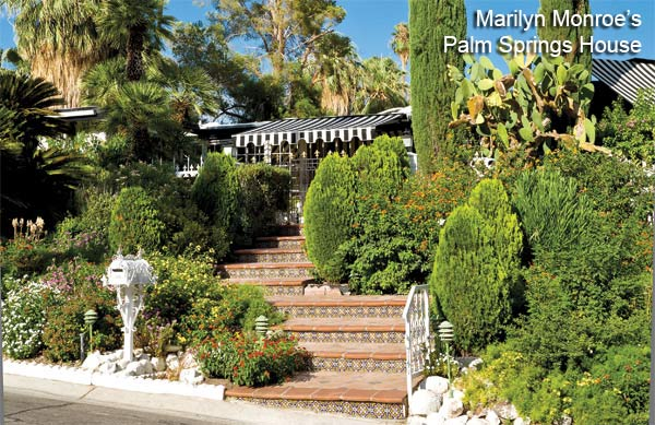 This U002750s Bungalow Style House Is Classic Old Hollywood And Kept The Way  Marilyn Would Have Had It When She Resided There In 1960 And 1961.
